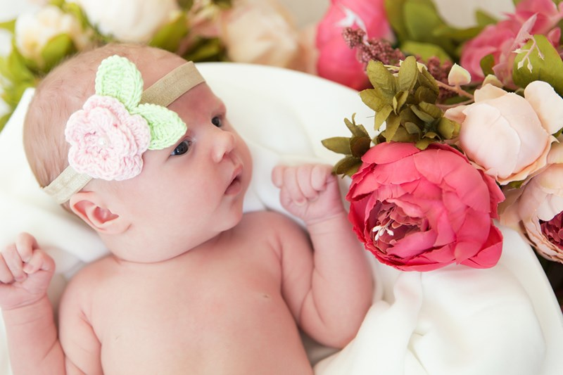Diy newborn photoshoot ideas